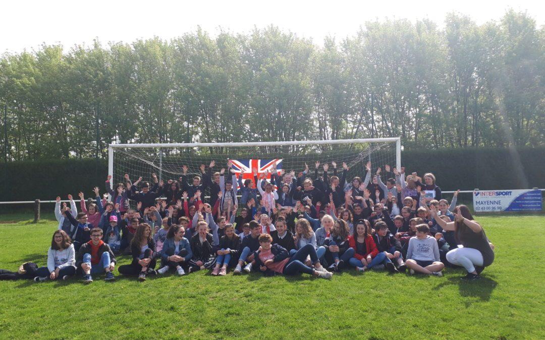 Rallye anglais école – collège les 15 et 22 mai