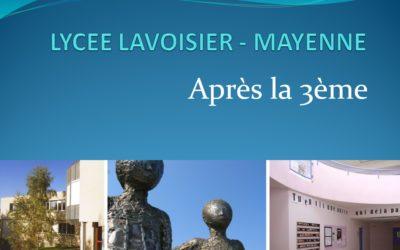 Portes ouvertes virtuelles lycée Lavoisier